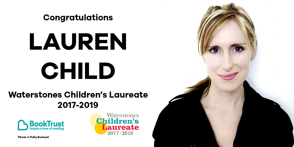 Lauren Child Children's Laureate