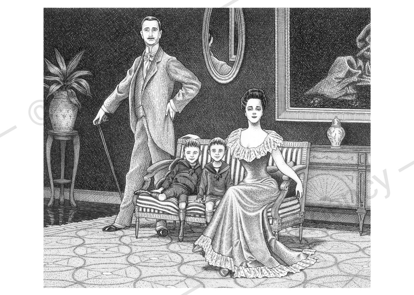 Lansbury-Family-Portrait