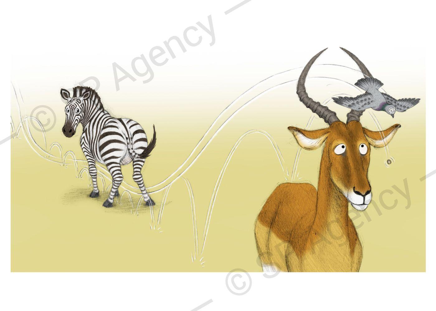 Percy---Zebra-and-Antelope